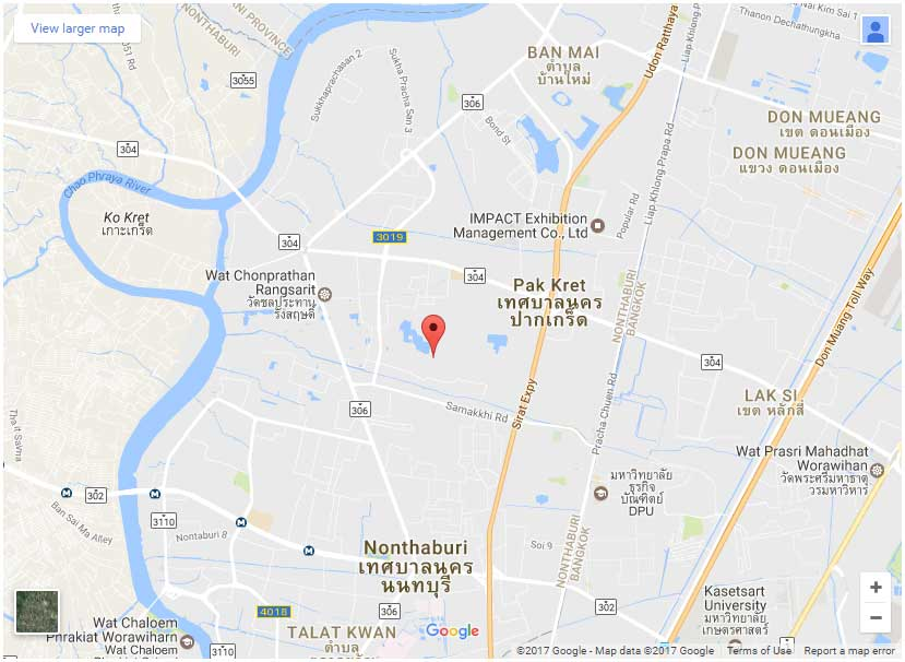 Nichada-Thani-map-location-Bangkok